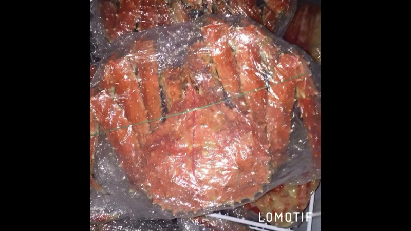 Подарочный Камчатский 🦀 краб👌🏻💥💪🏻 Мелкий опт целый 1350р/ кг Розница 1650р./кг навеска 2,5-4 кг ⚖️