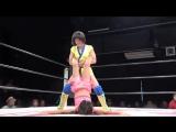 Hanan vs. Hina, Rina (Stardom - Shining Stars 2017 - Day 2)