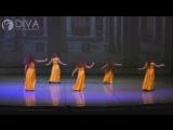 Детский танец живота, хореограф Ксения Чурилова  от танцевальной школы DIVA Studio