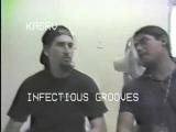 pt2 INFECTIOUS GROOVES Interview Ep41 KASR VIDEO ( MIKE DIABLO, ROBERT TRUJILLO and BROOKS WACKERMAN )