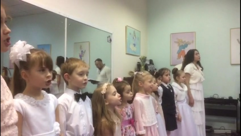 Коллектив «Фа-Сольки», руководитель Горячева Светлана Анатольевна.