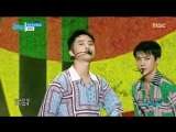 EXO - Ko Ko Bop (Music Core 12 августа 2017)