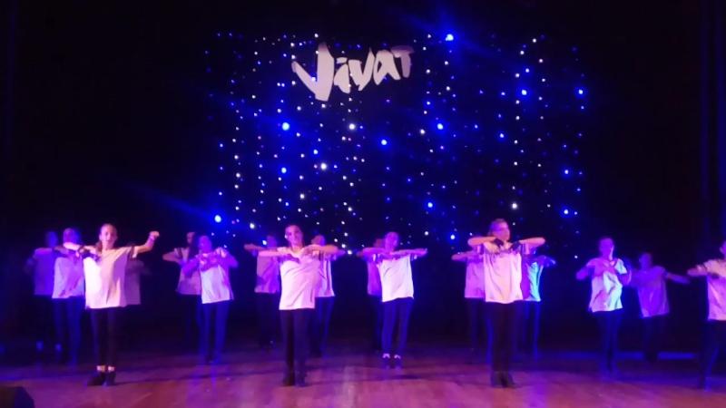 свеженький жаркий танец группы vivat, где танцует доча. отчетный концерт 18.06.17