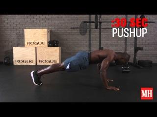 12-Minute Bodyweight Muscle Burner