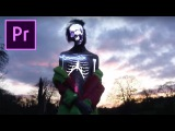 Adobe Premiere X-Ray Vision Skeleton Effect ! (Lil Peep Benz Truck, BRTHR, Cole Bennett)