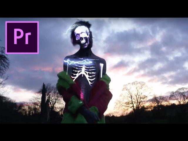 Adobe Premiere X Ray Vision Skeleton Effect Lil Peep Benz Truck BRTHR Cole Bennett
