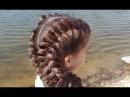 Объемные косы Обратные французские голландские Voluminous dutch braids