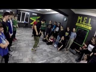 Bboy Scream  The VIBE workshop