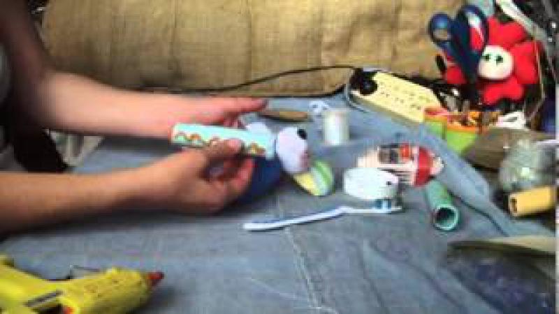Muñecos Soft.....ratón porta cepillo de dientes 2/2.....proyecto 51