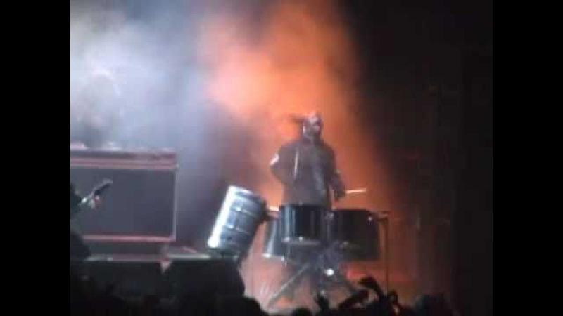 Slipknot Live - 03 - Disasterpiece | Milan, Italy [23.09.2004] Rare