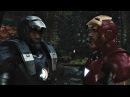 Железный человек и Воитель против дронов. Железный человек 2.