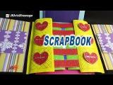 How to make a Multi fold Photo Scrapbook  Valentine's Day Gift Idea  JK Arts  907