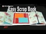 How to make a Scrapbook   DIY Scrapbook Tutorial   Valentine's Day Gift Idea  JK Arts 967