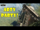 World of Tanks Funny Moments ARTY PARTY 24 world of tank приколы моды читы wot