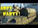World of Tanks Funny Moments ARTY PARTY 30 world of tank приколы моды читы wot