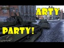 World of Tanks Funny Moments ARTY PARTY 29 world of tank приколы моды читы wot
