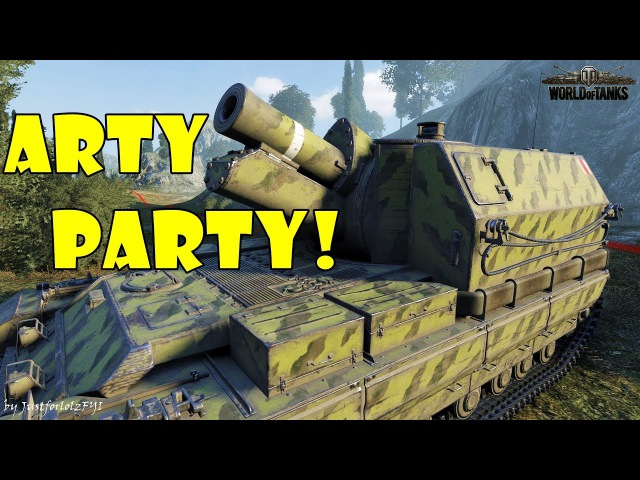 World of Tanks - Funny Moments | ARTY PARTY! 30 (world of tank, приколы, моды, читы, wot)