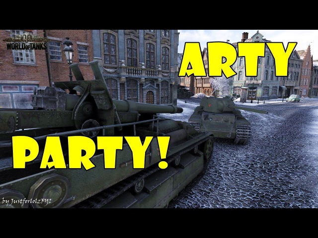 World of Tanks - Funny Moments | ARTY PARTY! 29 (world of tank, приколы, моды, читы, wot)