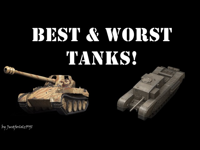 BEST WORST TANKS - Top Tankers Event (week 1) | World of Tanks (world of tank, приколы, моды, читы, wot)