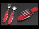 Походный набор ложка-вилка-нож