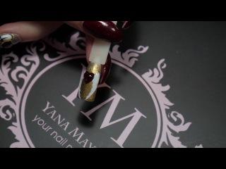 Обьёмный,авторский дизайн ногтей к 14 Февраля