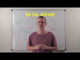 Learn English Daily Easy English 0825 to be wired