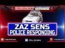 ZAZ Sens Police responding   ЗАЗ Сенс Поліція охорони