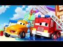 У Френка сломался брандспойт - Эвакуатор Том в Автомобильный Город 🚗 детский м ...