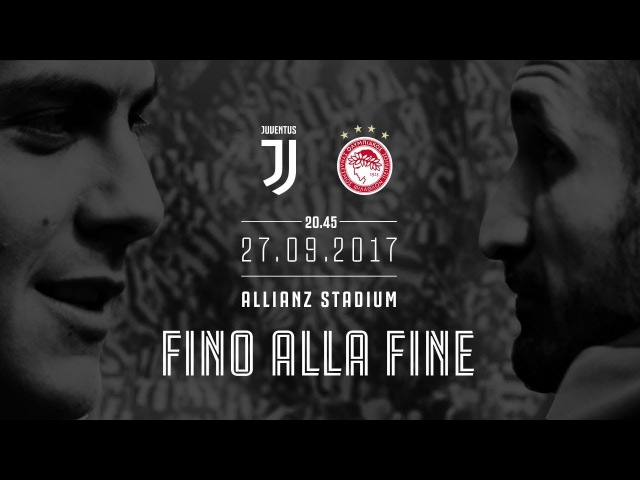 Juventus vs Olympiacos   Champions League returns to Turin!