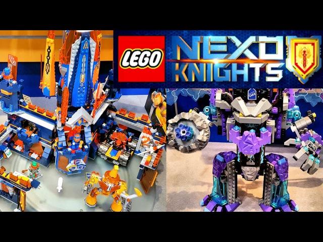 Лего Нексо Найтс Замок Найтон (70357), Каменный Колосс Джестро (70356) Наборы Lego Nexo Knights...