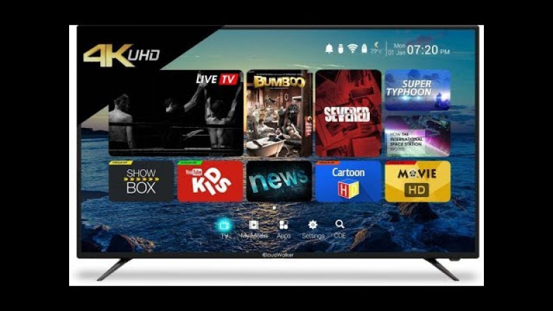 CloudWalker CLOUD TV 55SU 55 Ultra HD 4K LED Smart TV besr buy Flipkart