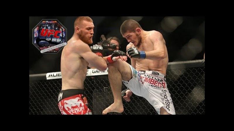 Хабиб Нурмагомедов VS Конора Макгрегора | Лучшие моменты чемпионов UFC