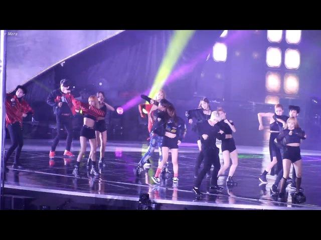161226 블랙핑크 트와이스 방탄소년단 우주소녀 갓세븐 레드벨벳 OPENING SHOW Dance Performance 전체