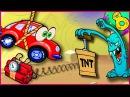 Вилли машинка 8 Мультики для малышей про машинки Веселая Красная машинка Вилли...