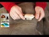 Чистка дубленки в домашних условиях2 Замша