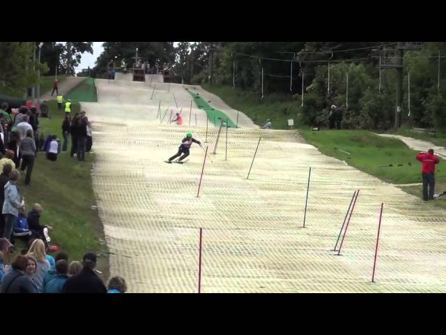Ski Race dry slope Record by James Sieber