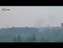 Донецк, 29 июня,2017 . Прямые попадания зажигательных снарядов ВСУ по домам на окраине Донецка 29.06.20