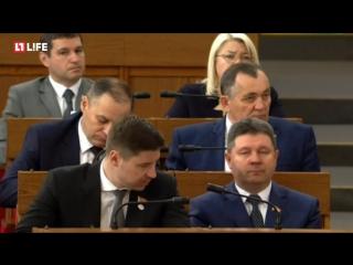 Президент Белоруссии А.Лукашенко обращается с ежегодным посланием к белорусскому народу и Национальному собранию