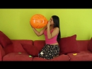 Cinibel Gomez - Nore is an expert in the balloon challenge jejejej