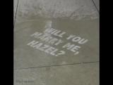 Надписи появляющиеся после дождя