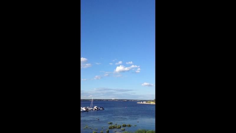 вид на речной порт