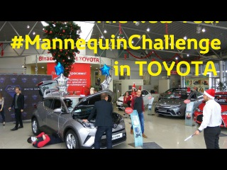 The New Year MannequinChallenge in TOYOTA (Kherson)