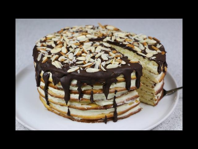 Торт Молочная девочка (Milchmädchen) очень простой и домашний