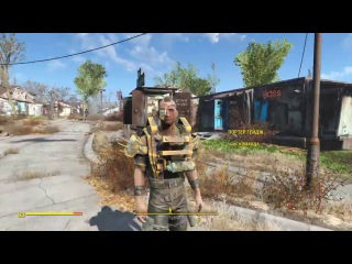 Fallout 4 Update 1.12 PS4 Mods first gameplay / How to install mods on PS4