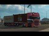 Euro Truck Simulator 2 Deep V8 sound mod V.9.0