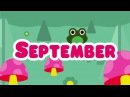 Months of the Year Song | 12 Months of the Year Song for Kids | The Kiboomers