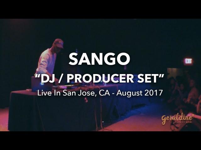 Sango (Soulection) DJ Set Live in San Jose, CA | The Ritz Music Venue SF Bay Area