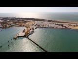Крымский мост 4K: Строительство на острове Тузла (от фарватера до РМ-2)