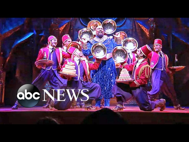 Cast of Broadway's 'Aladdin' Perform 'Friend Like Me' Live on 'GMA'