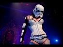 Империя наносит ответный удар Стриптиз шоу / The Empire Strips Back Strip show